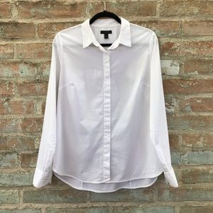 J. Crew Favorite Shirt Classic White Button Down